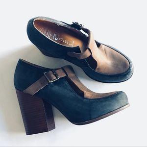 Jeffrey Campbell Havana Block Heel Shoes / Tumbler